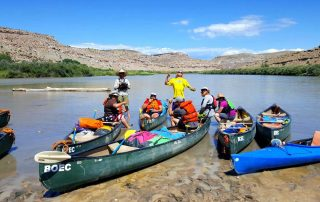 Brain Injury Survivors go Canoeing