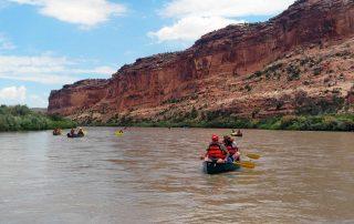 Brain Injury Alliance Colorado River Trip with BOEC