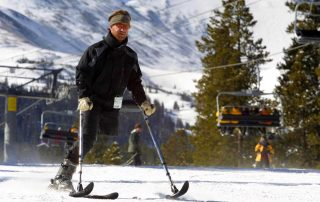 Disabled Veteran Adaptive Ski & Ride Camp