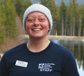Kristina Fowler, BOEC Summer Intern