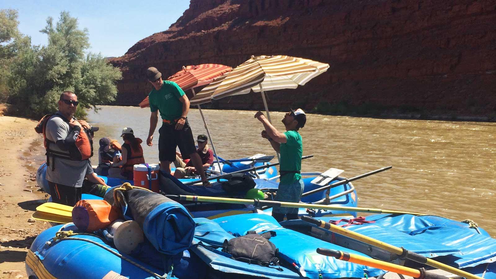 Heroic Families San Juan River Trip