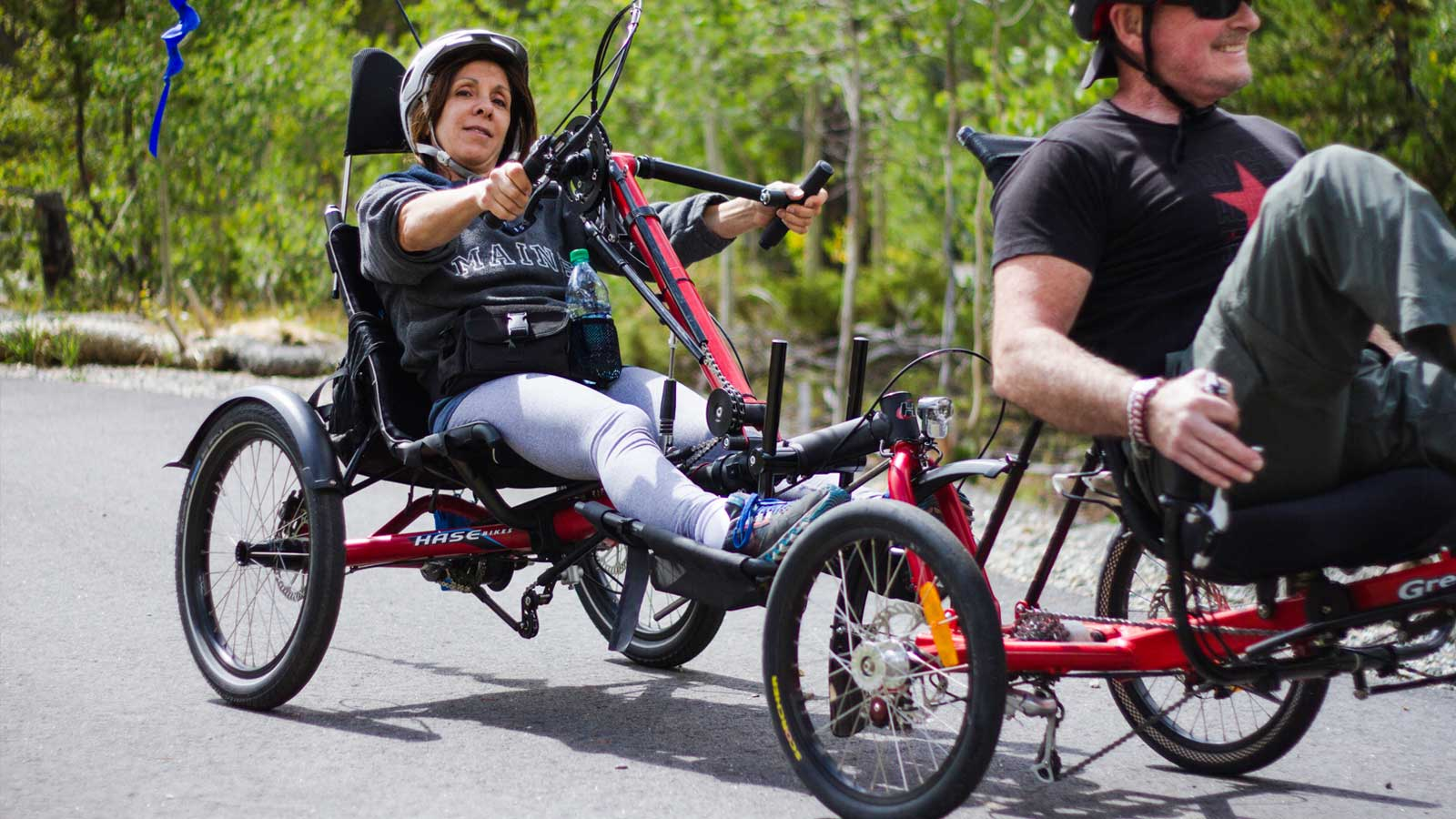 BOEC's Wheel Wild Adventures for spinal cord injuries.