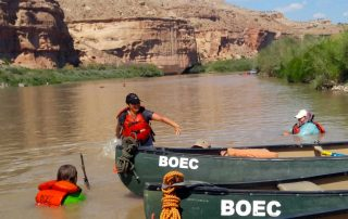 Women's Heroic Military Colorado River Trip