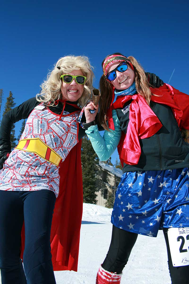 Breckebeiner participants dressed in costumes