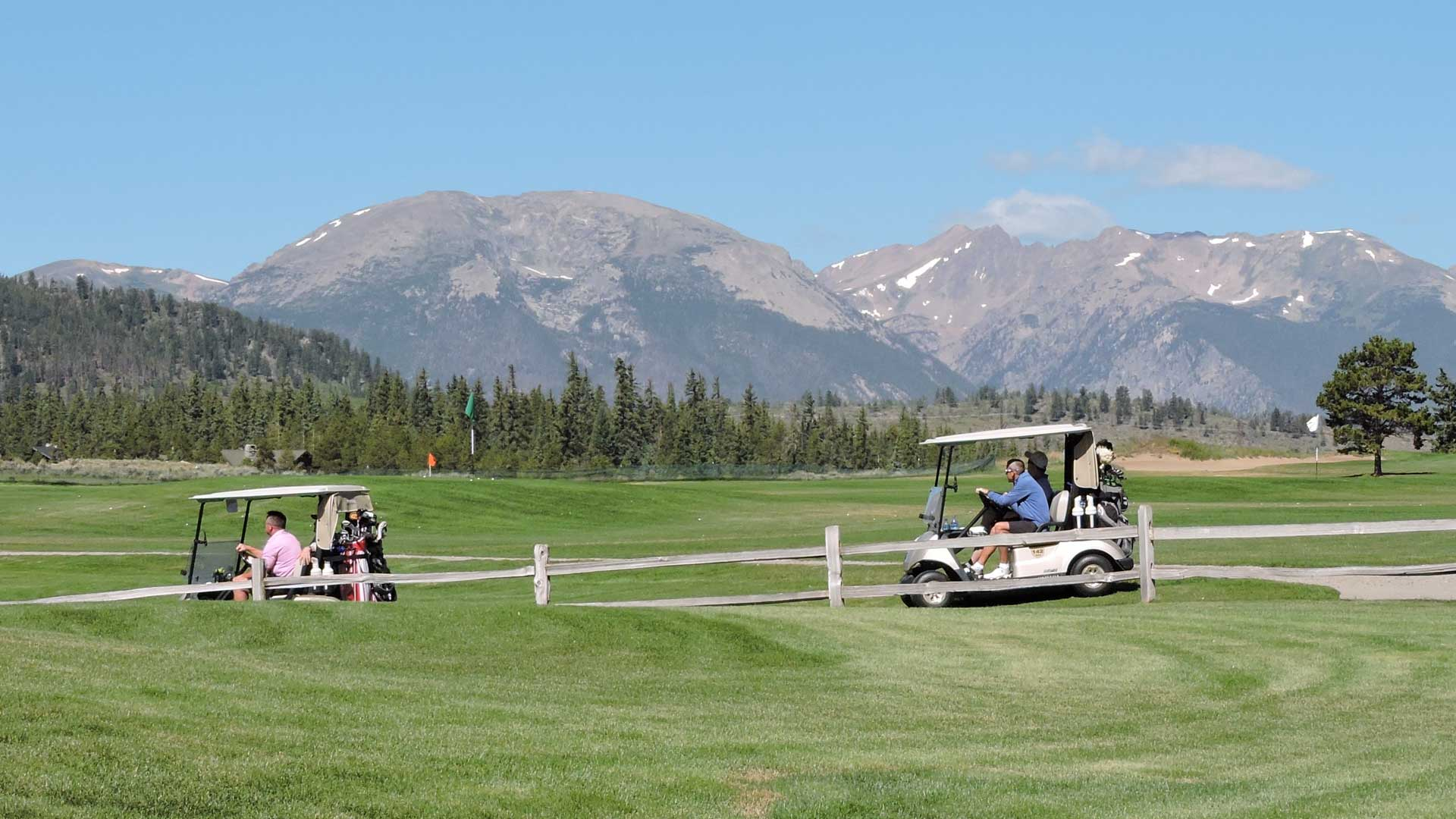 Tee It Up Golf Scramble at Keystone Ranch Golf Course