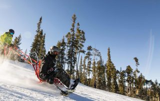 Winter Adaptive Skiing with BOEC