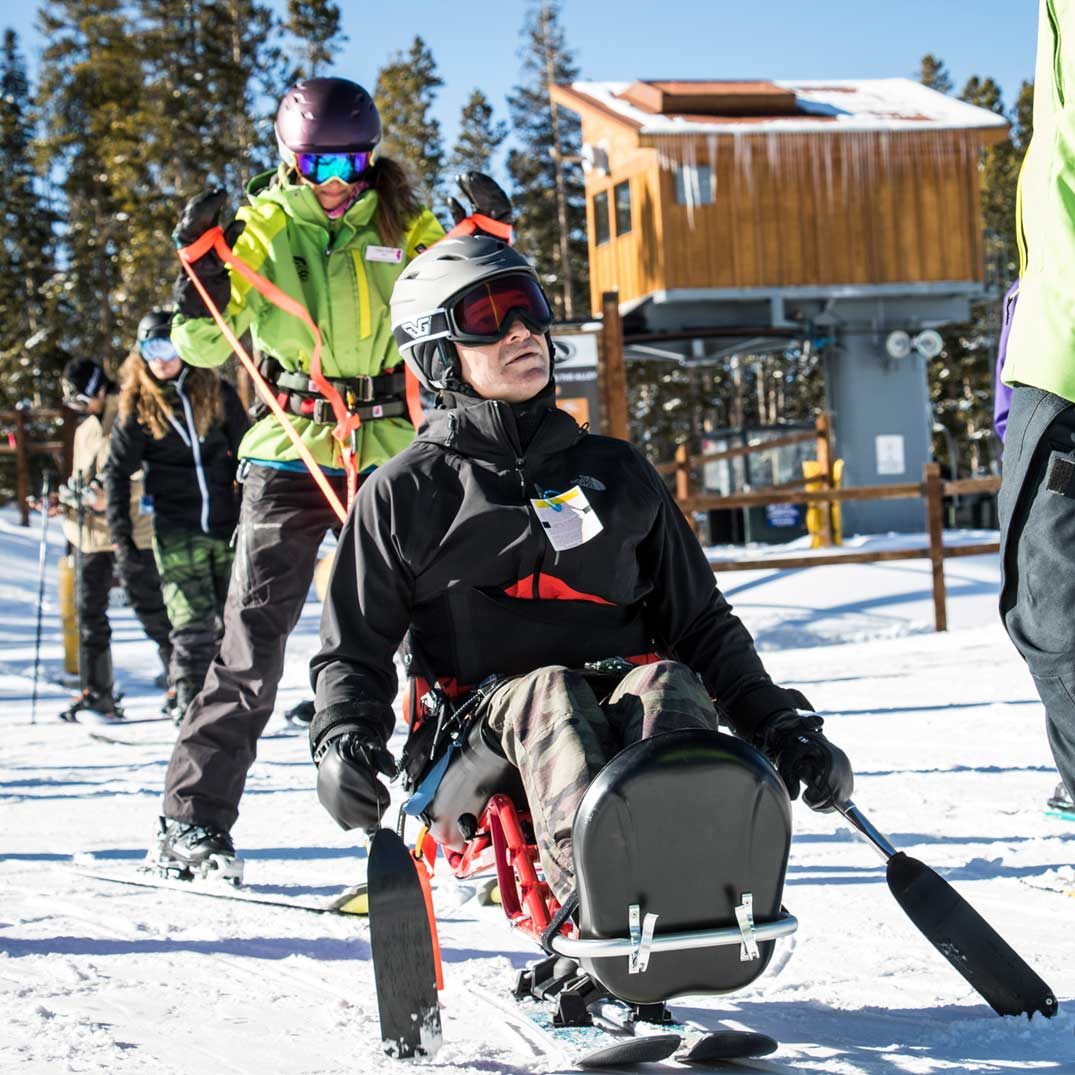 BOEC's Adaptive Skiing Winter Program