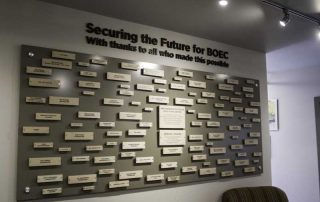 Administration Donor Wall