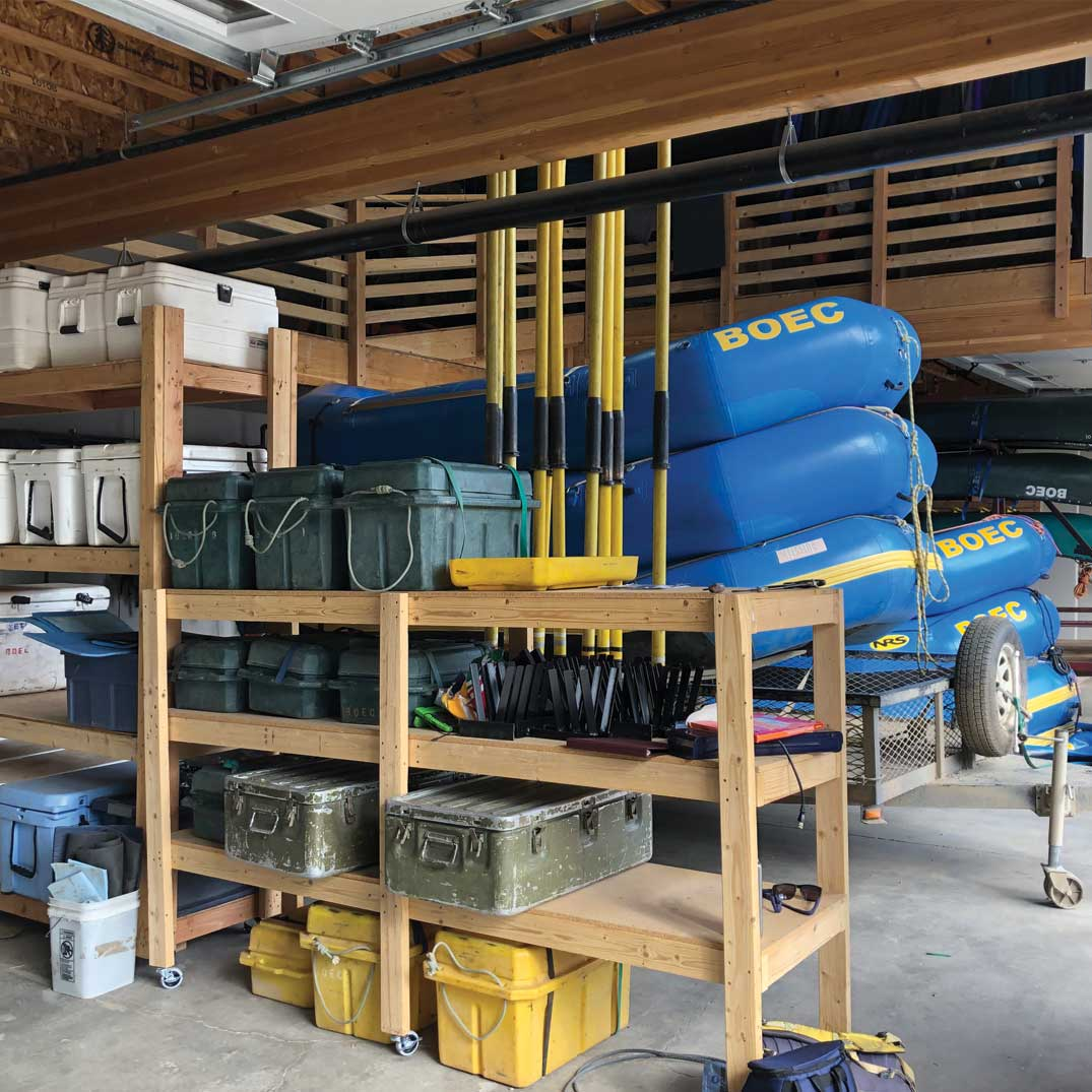 Breckenridge Outdoor Education Center (BOEC) Warehouse