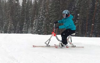 Adaptive Skiing with BOEC