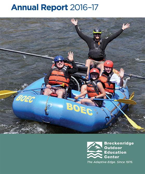BOEC's 2016-17 Annual Report