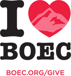 I Heart BOEC Sticker