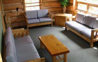 Scott Griffith Lodge Living Room