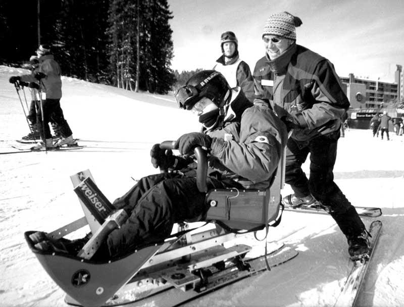 BOEC Adaptive Ski Program in early 2000s