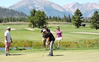 Mountainous Backdrop at Keystone Ranch Golf Course