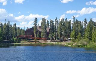 Scott Griffith Lodge View From Lake