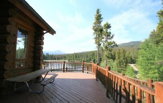 Scott Griffith Lodge Deck