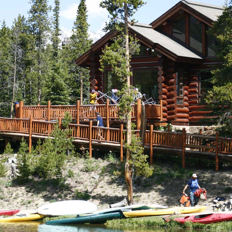 BOEC's Accessible Scott Griffith Lodge