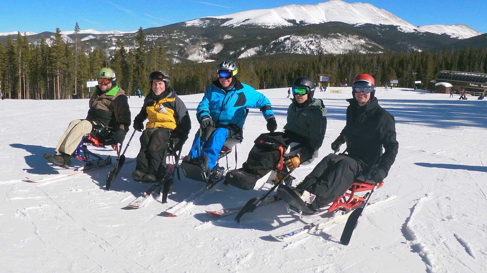 BOEC's Mono-Ski Camp