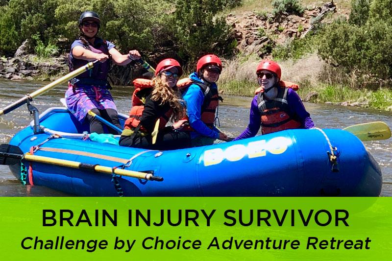 Challenge by Choice Adventure Retreat Participant