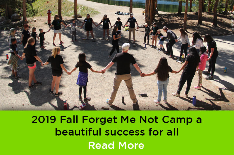 2019 Fall Forget Me Not Camp
