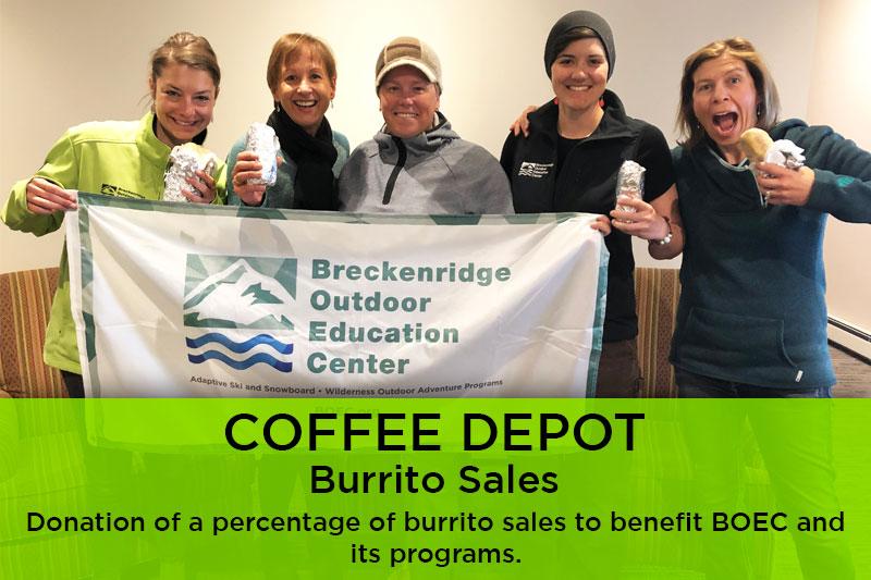 Coffee Depot Burrito Sales