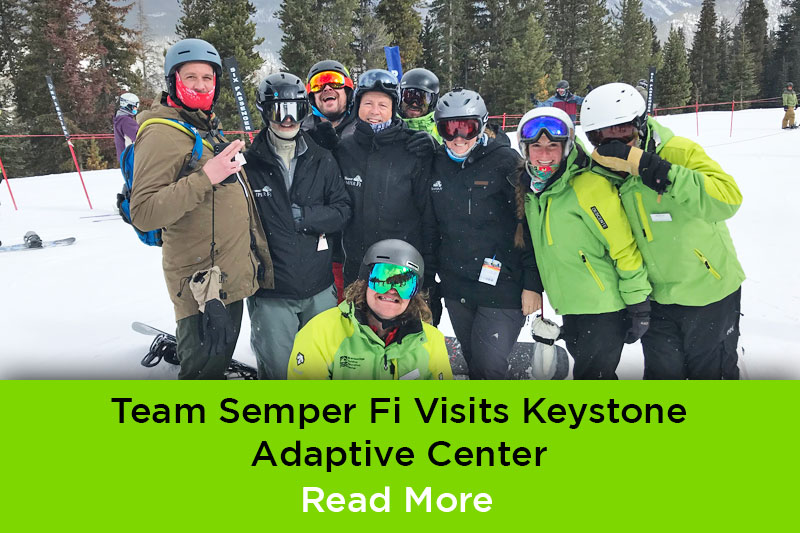 Team Semper FI Visits Keystone Adaptive Center