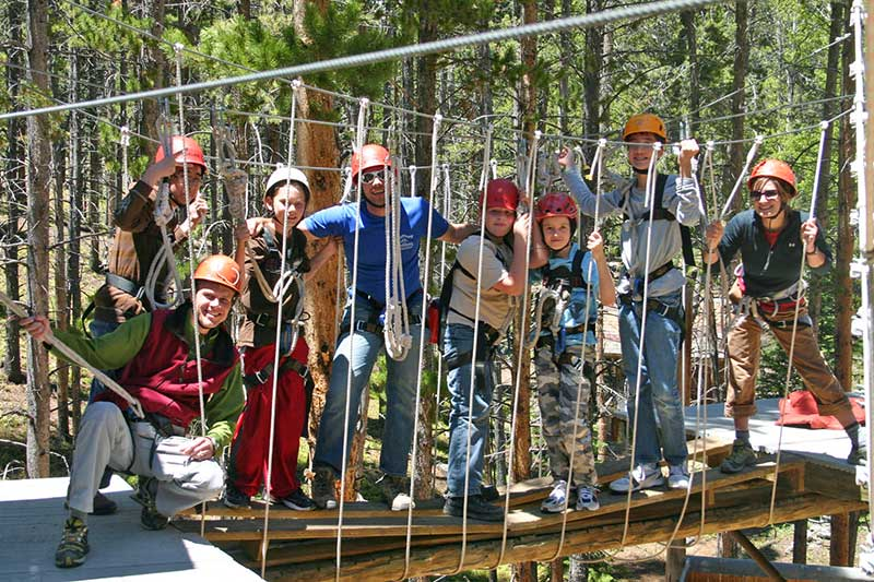 BOEC's Adaptive High Ropes Course