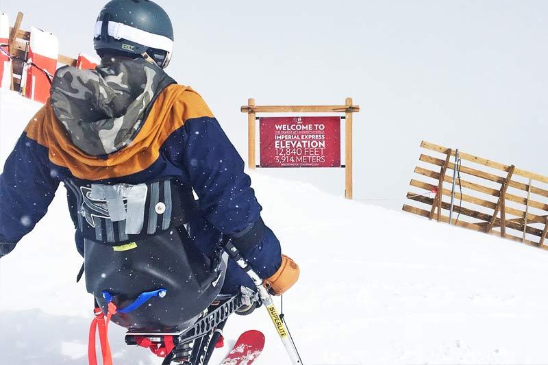 Adaptive Mono Ski