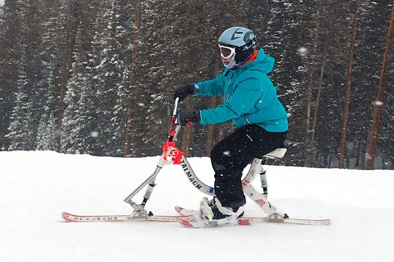 Adaptive Ski Bike
