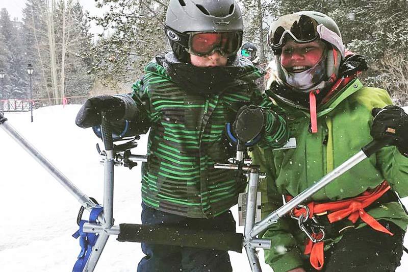 Adaptive Ski Legs
