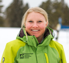 Lindsey Hahn - Keystone Ski Program Supervisor