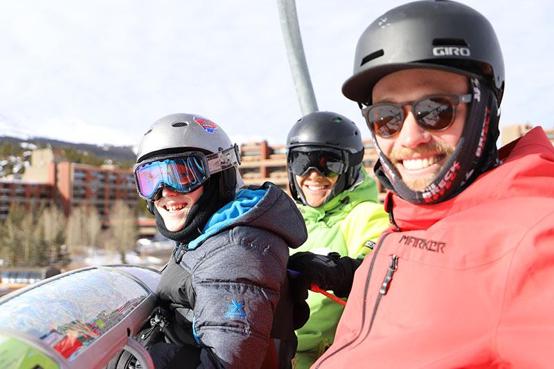 Casey Myers, BOEC Adaptive Ski Participant