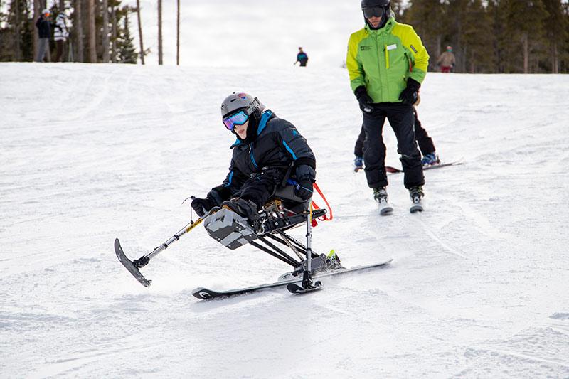 Casey Myers Adaptive Skiing
