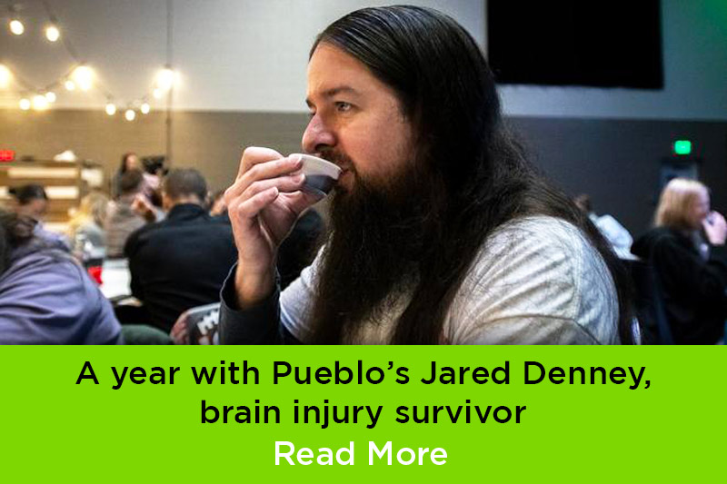 Jared Denney, brain injury survivor