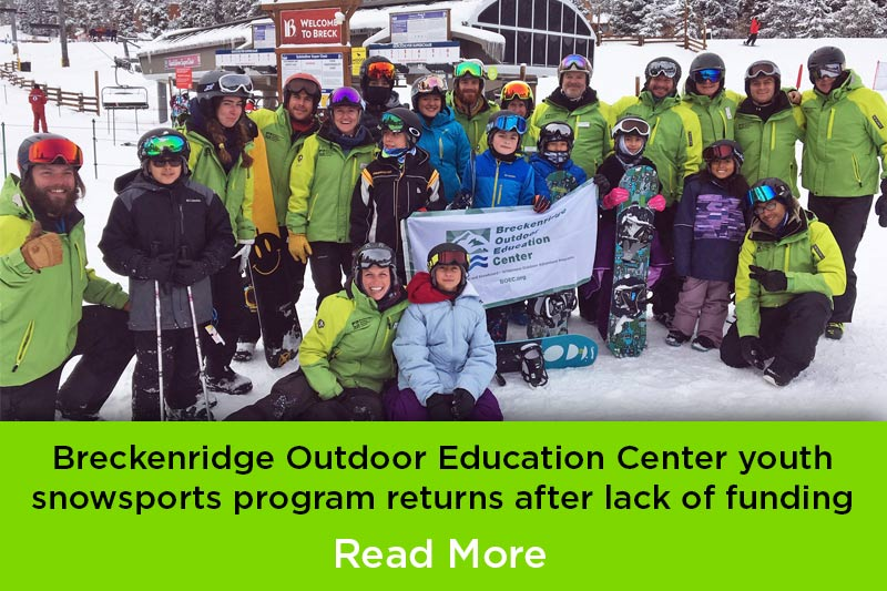 The Snow Sports Alliance Youth Ski Program