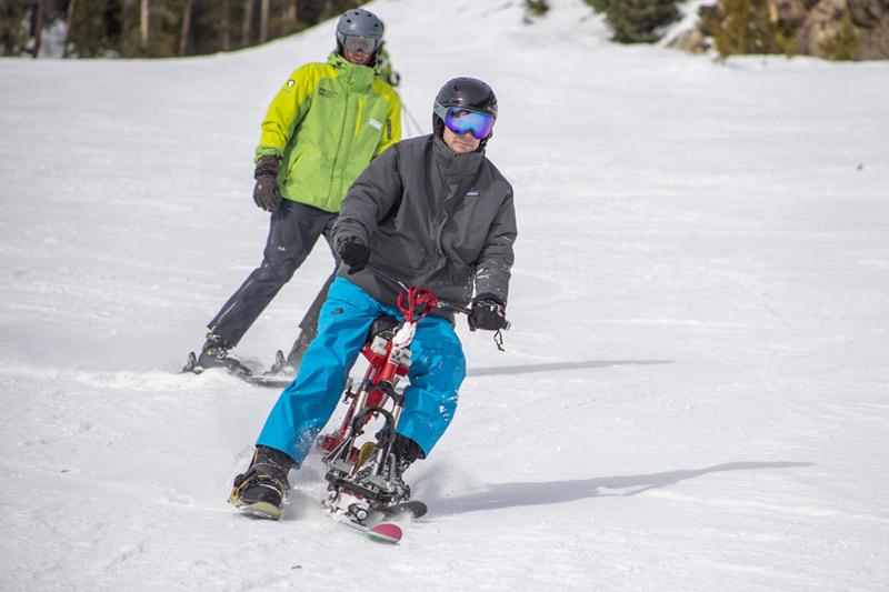 Ski bike at KAC