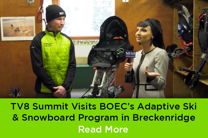 TV8 Summit Visits BOEC
