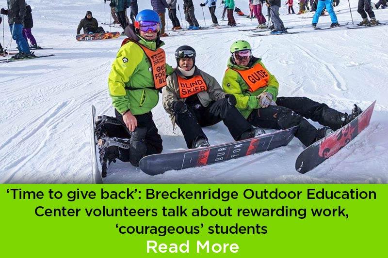 BOEC Volunteers Give Back