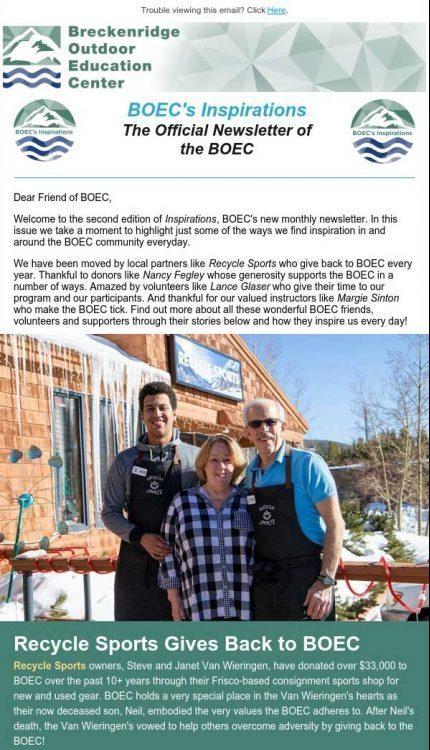BOEC's February 2020 Newsletter