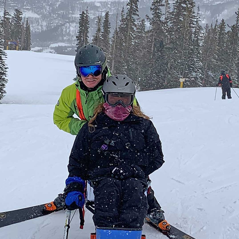 BOEC Adaptive Ski Participant