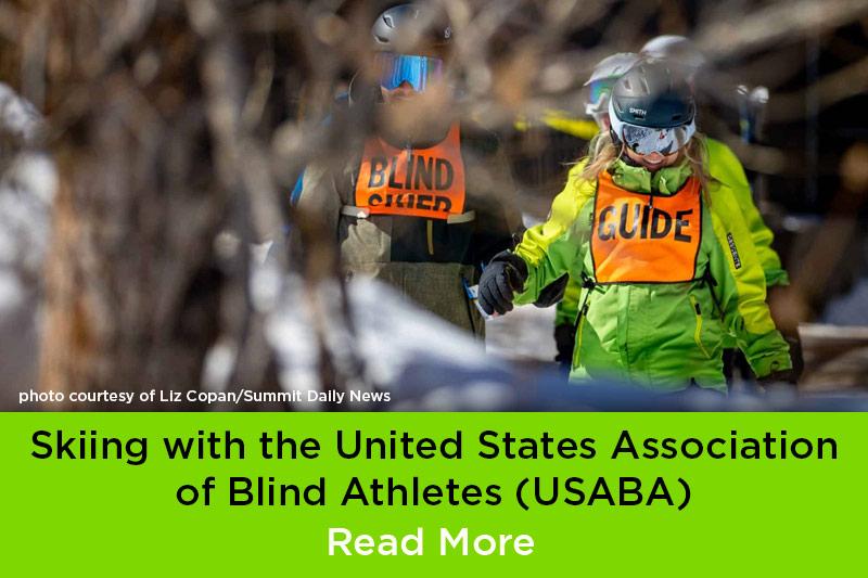 BOEC Hosts USABA Blind Skiers