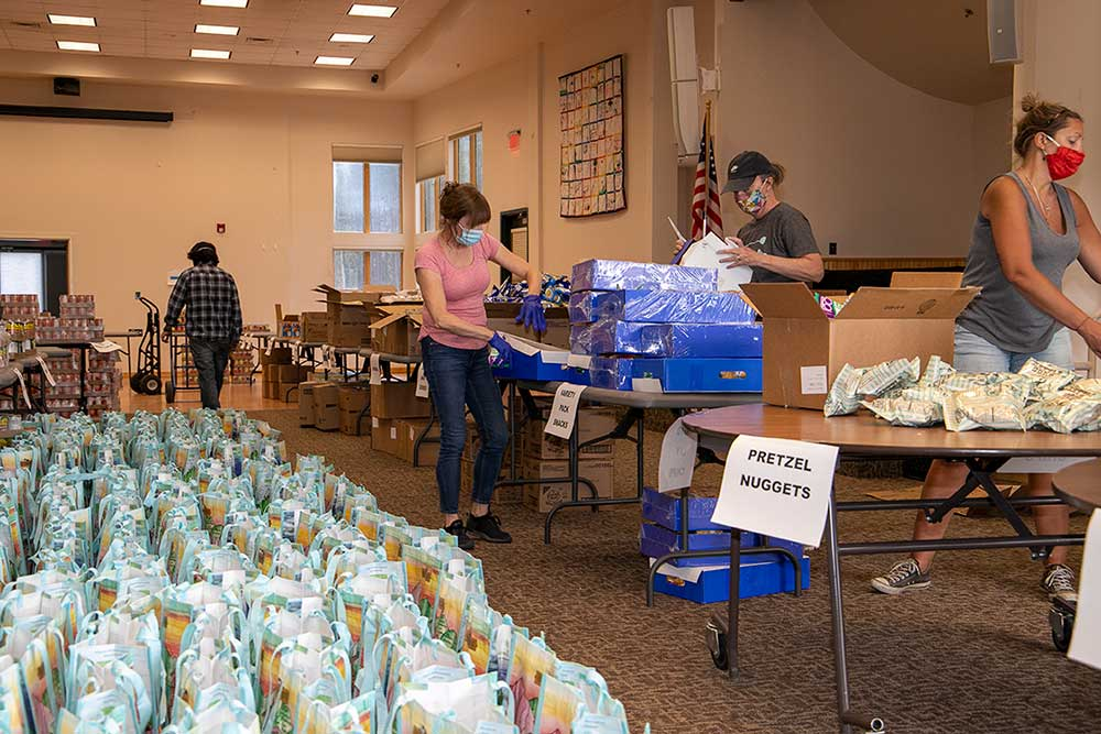 Summit County Senior Center Food Bank