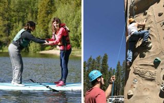 BOEC Rock Climb & Paddle Board