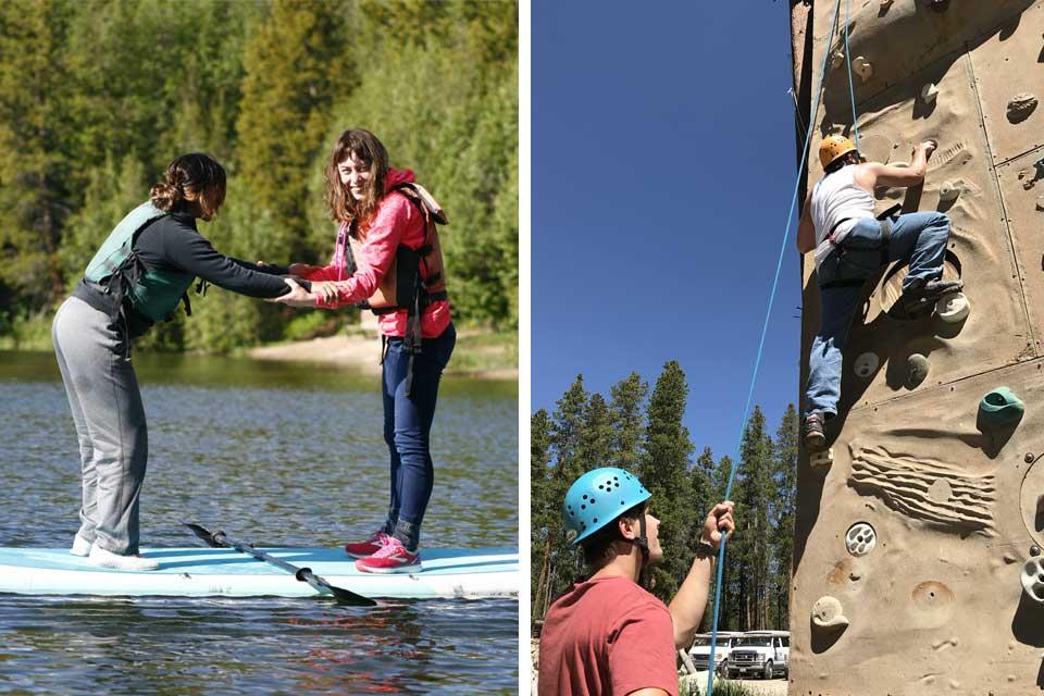 BOEC Rock Climb & Paddle Board