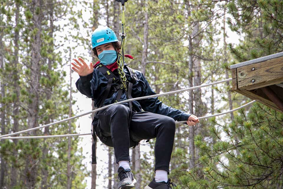 BOEC Ropes Course Challenge