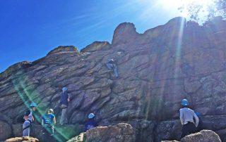 BOEC rock climbing