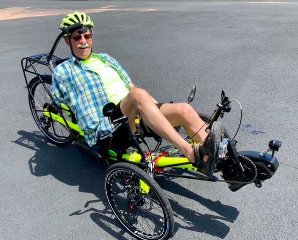 An adaptive cycling enthusiast