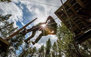 BOEC High Ropes Course