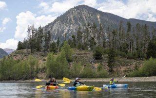 BOEC Lake Dillon Kayak Adventure